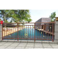 东莞铝合金阳台栏杆,东莞锌钢阳台栏杆图片,东莞恒业护栏铝合金阳台栏杆,大红中国结花式阳台栏杆