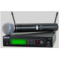 舒尔SLX24/BETA58一拖一无线手持式话筒
