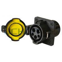 供应V2-DSS-EV16/32/70S美标交流充电插座