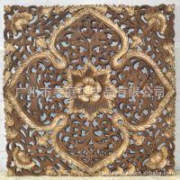 东南亚风格树脂挂件家居装饰品商务礼品客厅招财挂饰挂画