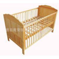 木制品厂家热销原色婴儿床 多功能婴儿床 实木无漆环保安全婴儿床