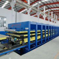 青岛国森机械制造高精度玻璃钢XPS复合板工艺设备
