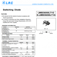 LRC开关二极管LMBD6050LT1G