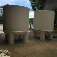 立创厂家定做5T反应釜PP搅拌罐塑料反应设备