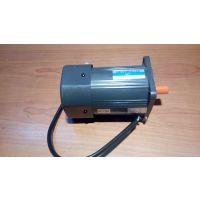 万鑫120W微型调速电机常用来匹配涡轮减速机配套输送设备
