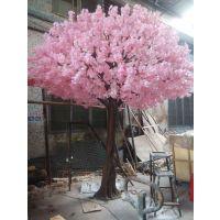 仿真樱花树 节日樱花树装饰 出口樱花树厂家直销