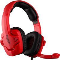 赛德斯901C 耳机 热力红色 炫酷外观火爆升级 USB接口 独立麦克风