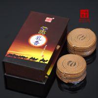 批发异域古香 天然乳香熏香盘香2小时16双片 助冥想高档佛香RX002