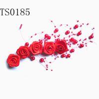 新娘头饰头花 满天星玫瑰发饰 TS0185