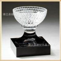 厂家直销  定制高档水晶奖杯奖牌可加logo  创意水晶工艺礼品E