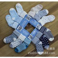外贸原单儿童袜纯棉儿童袜原单同步官网宝宝袜卡特婴儿袜手工平头