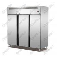 雅绅宝立式冷藏冷冻柜 不锈钢两门高身柜 商用冰柜 冷柜厂家售后