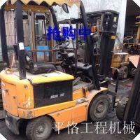 供应二手前移式堆高车|二手电瓶杭州叉车|全电动堆垛车