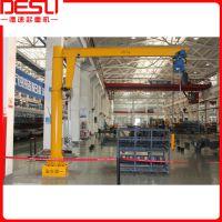 苏州电动旋臂吊0.25T柱式悬臂吊欧式旋臂起重机