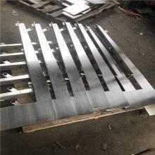 金聚进 厂家直销不锈钢工程双钢板立柱 不锈钢钢板立柱设计制作一体