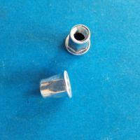 M6*12平头铆螺母-镀白锌拉铆螺母-中山佛山江门内螺纹铆接螺母生产厂家