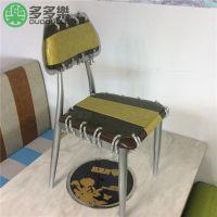 供应四川成都休闲椅/靠背椅子 茶餐厅餐椅 高档餐厅金属椅子