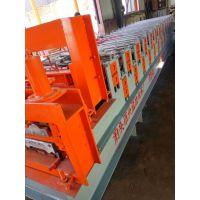 竹节琉璃瓦机780型彩钢压瓦机河北沧州兴益供应