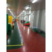 九叶益典地坪材料生产的,钢板地坪以及室外抗紫外线地坪,医院高端地坪