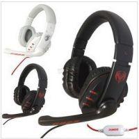 硕美科G923 时尚 游戏耳机 头戴式电脑语音耳麦 潮 带麦克风 正品