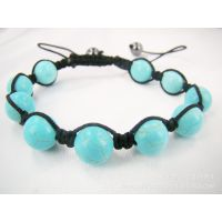shamballa Bracelet 香巴拉 天然水晶系列 绿松石手链
