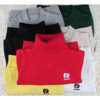 广东小孩儿童男童女童毛衣批发订做定做毛衣中小童中大童打底衫套头中领高领针织衫羊毛衫毛线衣JY02