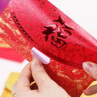 金福星高档烫金福字红包 春节创意用品 珠光纸企业广告logo利是封定制