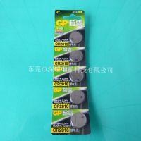 日本进口 GP超霸 CR2016 卡装 纽扣电池 3V锂电池