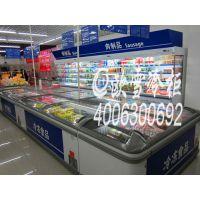 深圳O2O生鲜超市里用来放海鲜与进口牛肉的冷柜是什么牌子
