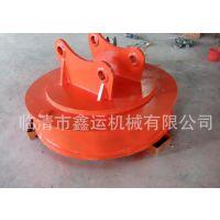 供应鑫运牌挖掘机专用起重电磁铁吸盘(MW5系列)