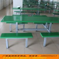 中山饭堂餐桌椅批发/柏克玻璃钢餐桌椅规格