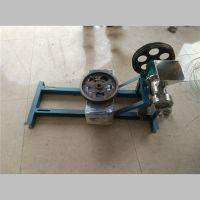 正宗粽子型面粉膨化设备 粮食小麦面粉膨化机 农村创业设备