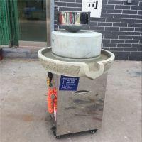 鼎信半自动豆浆石磨 多用途电动水磨机 米浆石磨机