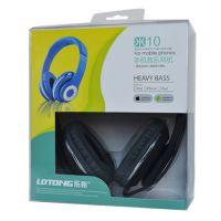 批发 乐彤 米10 音乐耳机豪华版 头戴式耳机 超强立体声 游戏耳机