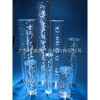 厂家直销 有机玻璃棒 气泡亚克力棒 透光板 亚克力