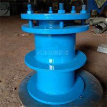 供应DN150波纹管密闭防水套管 耐腐蚀柔性防水套管 海水用防水套管