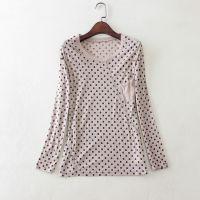 2015春季新款 人手一件 波点长袖T恤打底衫C113 0.12