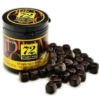 韩国进口  乐天高纯度72黑巧克力 高纯度微苦巧克力 24桶一箱