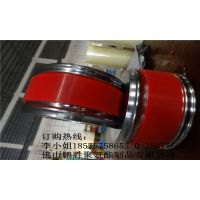 供应包装机械聚氨酯耐磨包胶轮 压纸轮不脱胶不掉色无气泡