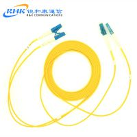 电信级厂家直销 LC-LC单模双芯光纤跳线 尾纤 3米5米 可定做各种型号及米数