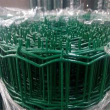 3.0mm养殖铁丝网 抗老化6*6cm孔围栏浸塑荷兰网