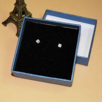 天地盖盒精美戒指包装盒首饰纸盒子可定制烫金LOGO