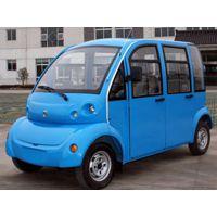 厦门朗迈5座封闭式旅游观光车,M05四轮电动旅游观光车厂家报价,可定制