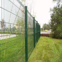公路铁丝护栏网 围栏网 种植外围折弯护栏网