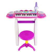 厂家直销灿辉BB33D益智多功能音乐电子琴小钢琴带麦克风儿童玩具