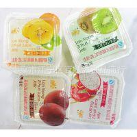 淘吉 兰香子果汁果冻 奇异果/百香果/火龙果味 一箱10斤