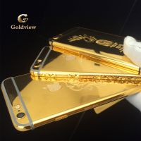 24k纯金苹果6黄金手机  GV帮文莱皇室定制60台 GOLDVIEW黄金手机