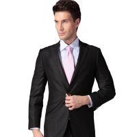 2018新款韩版时尚修身纯色两粒扣商务西装套装职业装正装厂家直销