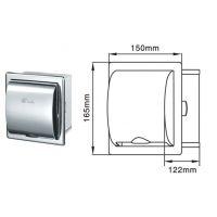 暗装小卷卫生纸盒 304不锈钢厕纸箱 洗手间抽纸器 批发包邮