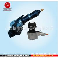 钢带打包机 气动分离式铁皮带捆扎机钢管打包机